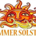 June 15; Summer Solstice Celebration