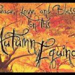September 21: Fall Equinox Organic Dinner